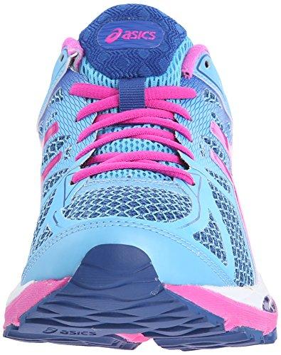 Asics Women's Gel-Cumulus 17 Running Shoe Sky Blue/Pink Glow/Blue