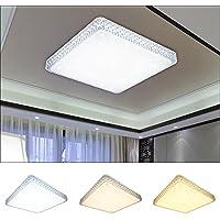 48W LED Kristall Deckenleuchte  Himmel Deckenlampe Wohnzimmer Badleuchte