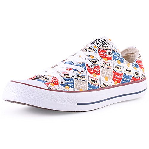 Converse Chuck Taylor All Star Ox, Sneaker Unisex Adulto Rot