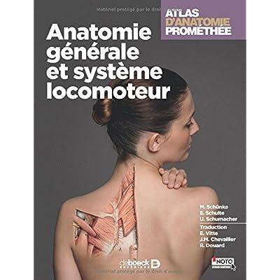 Atlas d'anatomie Promethée : Tome 1 - Anatomie générale et système locomoteur