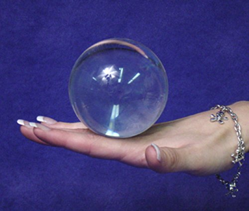 Clear UV Acrylic Contact Juggling Ball - 2.5