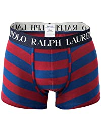 POLO RALPH LAUREN Short Homme, Pantalon, Stripe Trunk, Strip - Blue/Red