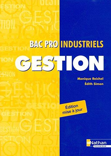 Gestion - Bac Pro Industriels