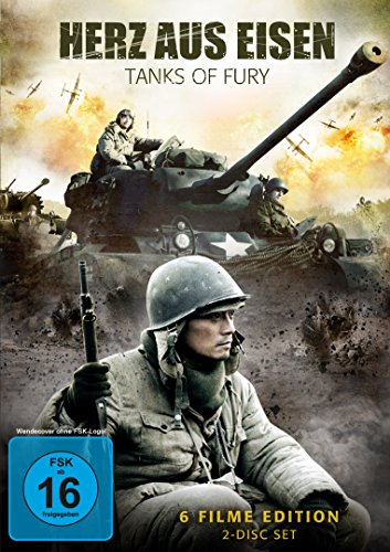 Herz aus Eisen - Tanks of Fury (6 Filme-Edition im 2 Disc Set) (Eisen-boxen)