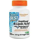 Doctor's Best, Best Stabilized R-Lipoic Acid, 100 mg, 60 Capsules végétales