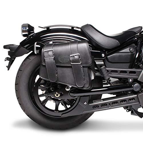 Motorrad Satteltasche für Custom Bikes Montana schwarz rechts -