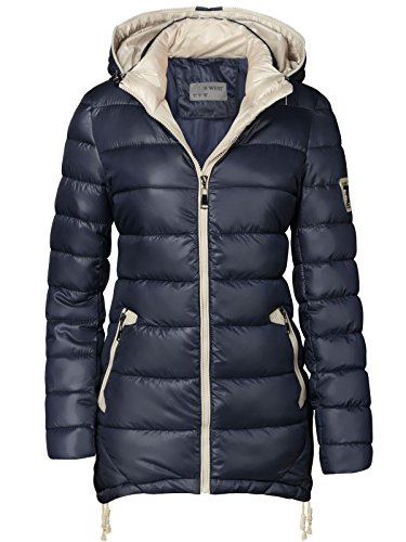 Chaqueta mujer, abrigo acolchado largo, parka, chaqueta