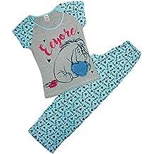 Mujer Winnie the Pooh Eeyore Corazones Camiseta Pijama Tallas Grandes de 8 a 22