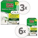 3 x Nexa Lotte Insektenschutz 3 in 1 Set gegen Mücken Fliegen + 6 x Nachfüllpack