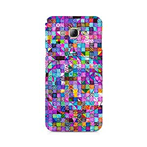 High Quality Printed Cover Case for Samsung A3 Model - Sharpie Doodle