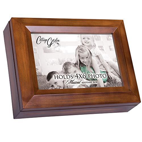 Holzmaserung Digital Andenken Musik Box spielt Ich kann nur Imagine - Andenken-foto-box