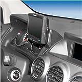 KUDA Navigations Konsole passend für Navi Opel Antara ab 09/2006 Mobilia / Kunstleder schwarz