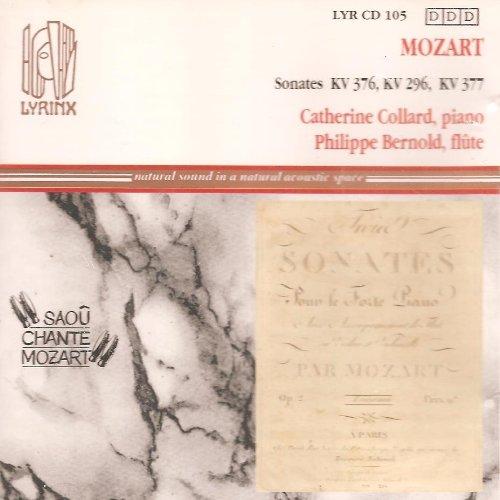 Sonatas Kv. 376,296 & ,377