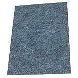Filzgleiter / Möbelgleiter, selbstklebend, besonders starke Qualität (verschiedenen Farben & Größen), A4, grau, 4mm stark