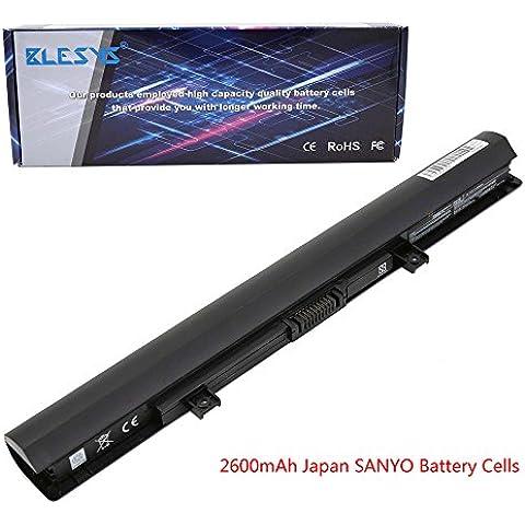 BLESYS - 2200mAh Toshiba Satellite L50-B L50D-C55-B C C55D-C70 C-C-C C70D Series batería del ordenador portátil del reemplazo Compatible con TOSHIBA PA5184U-1BRS PA5185U-1BRS PA5186U-1BRS PA5195U-1BRS