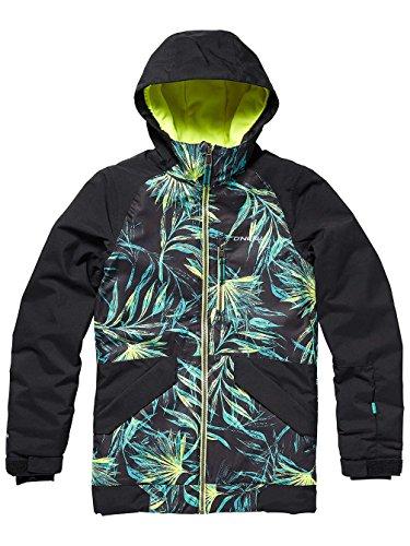 O'Neill Mädchen Kinder Snowboard Jacke Gloss Jacket Girls, Black Out, 152 Oneill Snowboard
