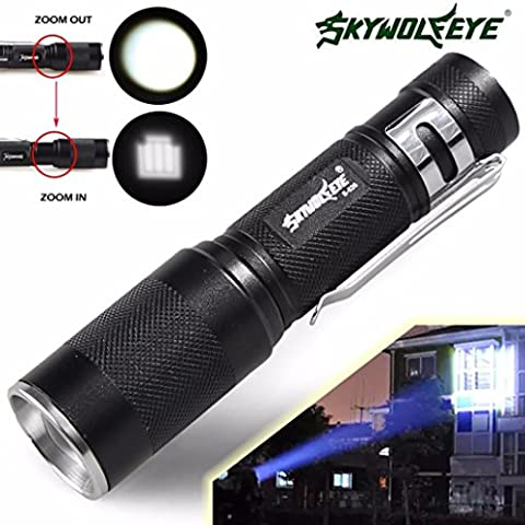 Fortan 4000LM Zoomable CREE XM-L Q5 LED