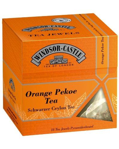 Windsor-Castle Orange Pekoe Tea Jewel, Pyramidenbeutel, 18er, 35 g