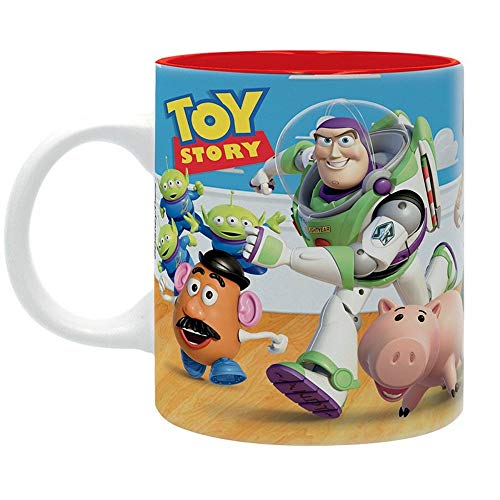 Toy Rex Kostüm Story - Toy Story Disney Premium Keramik Tasse - Buzz Woody & Rex - Geschenkbox