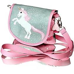 Unicorn MAGIC COLLECTION Unicornio MAGIC COLLECTION mágico con brocado bolso bandolera de pequeña para una pequeña princesa Modelo 2018
