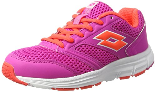 Lotto Speedride 500 W, Scarpe Running Donna, Rosa (Pnk Mag/Red Fl), 37 EU