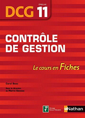 Contrle de gestion - DCG 11 - Fiches