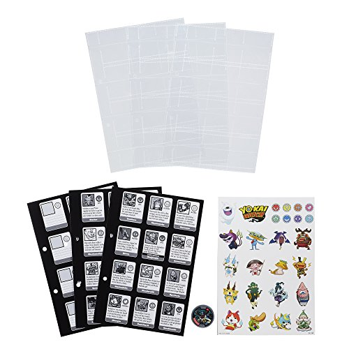 Yo-Kai Watch Collection Book Pages 3-Pack 2016 Series 1 Case (12) - German Version Hasbro Action toys