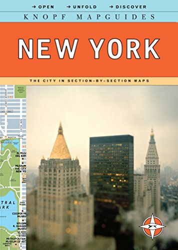 Knopf Mapguides: New York: The City in Section-by-Section Maps - York New Mapguide