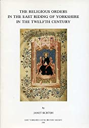 Religious Orders in the East Riding of Yorkshire in the Twelfth Century