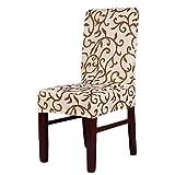 ROSENICE Stuhlhusse Stuhlbezug Stretchhusse Elastic Esszimmerstuhl Abdeckung - 1 Stück