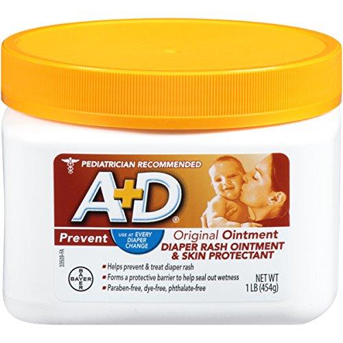 A&D Original Diaper Ointment Jar, 1 Pound