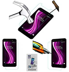 Acm Tempered Glass Screenguard For Lava X81 Mobile Screen Guard Scratch Protector