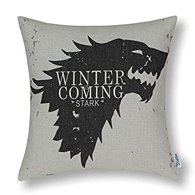 CaliTime Game of Thrones Houses Badages Cushion Covers