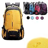 45 L Rucksack in 5 Farben Sporttasche Freizeitrucksack Reiserucksack Tasche Backpack Wandern (pink)