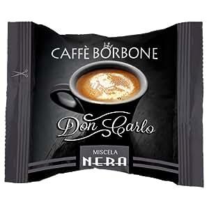 Caffè Borbone Don Carlo Caffè in Capsule, Confezione da 100 Capsule,  Miscela Nera