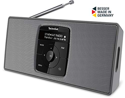 TechniSat Digitradio 2 S (Tragbares DAB+/UKW-Stereo-Radio mit Bluetooth Audiostreaming und hochwertigem OLED Display)