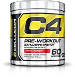 Cellucor - C4 Premium Pre Workout Powder with Creatine, Beta Alanine, and TeaCor for High Performance (195g) - Fruit Punch - 60 Servings
