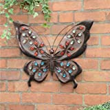 Weatherproof Solar Butterfly Wall Art