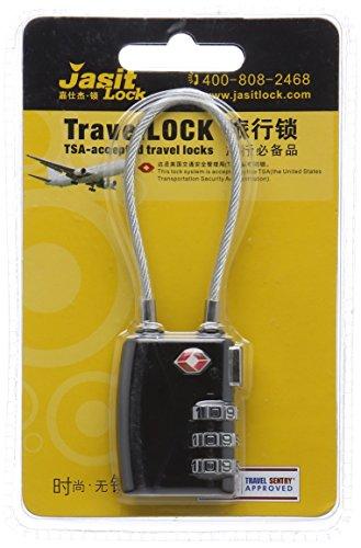 XCSOURCE® Verrou à combinaison 3-chiffres pour améliorer la sécurité / sac bagages valise verrou / accessoires de voyage Super verrou TSA, Sécurité, fashion aisée, Multicolore HS163
