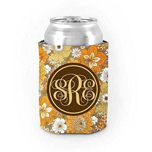 (Custom Funny können Dosenkühler gelb Blume Isolierte Neopren Kann Kühler Tasse Personalisierte Bier Sleeve für Mädchen)
