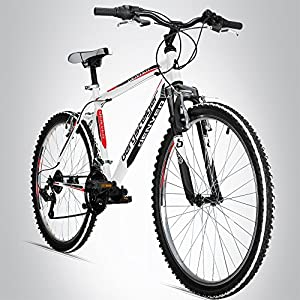 Bergsteiger Denver 26 Zoll Mountainbike, geeignet ab 155 cm, Shimano 18...