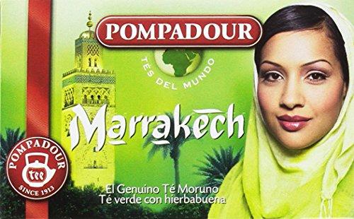 Pompadour Té Marrakech - 20 bolsitas - [Pack de 5]