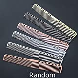 Combinazione di taglio statico per pettine antiscivolo a pettine in alluminio per pettinatura da salone MXECODurable