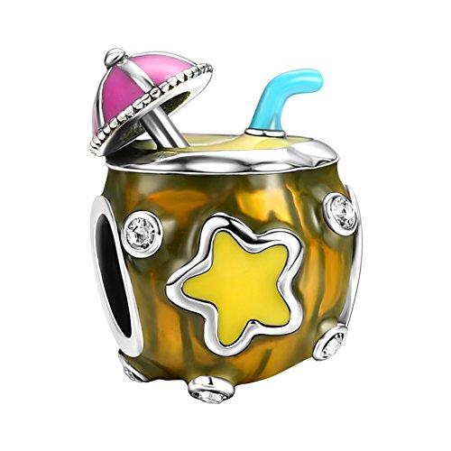 Soufeel Kokosnuss Saft Charm Bead 925 Sterling Silver -
