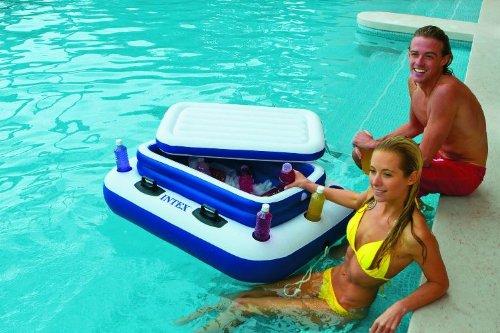 Preisvergleich Produktbild schwimmende Kühlbox Getränkebox Mega Chill 2 für Pool Schwimmbad