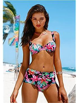 Moderno y cómodo bikini _ split Digital, trajes de baño y elegante, moderno y cómodo bikini, fotos, serie L