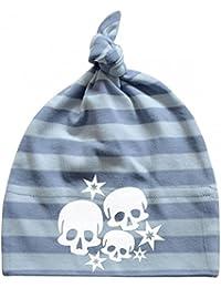Mikalino Baby Mütze Skulls and Stars
