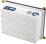 Clean Office Feinstaubfilter, 1x weiß 15x12x4 cm