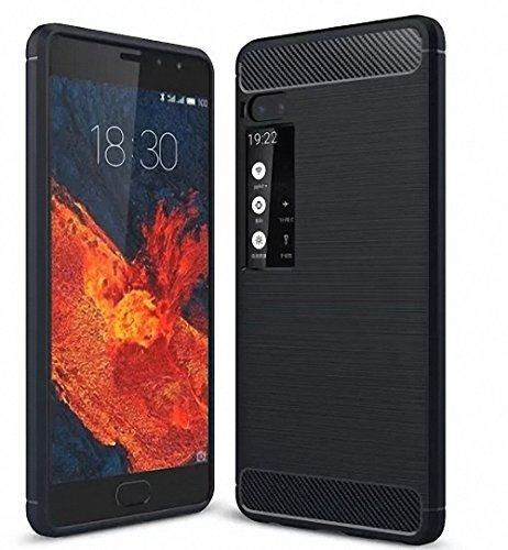 Meizu Pro 7 Plus Hülle, Hülle, NAVT Ultra Slim Silikon Rückseite Schutzhülle, mit Advanced Shock Absorption Technology hülle für Meizu Pro 7 Plus (Blau)