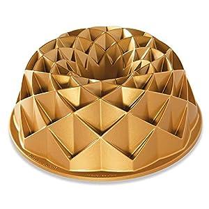 Nordic Ware 88377 Jubilee Bundt-Pfanne, eins, goldfarben